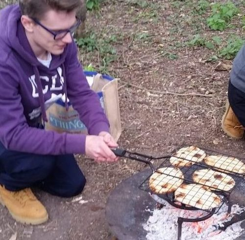 training course campfire curry