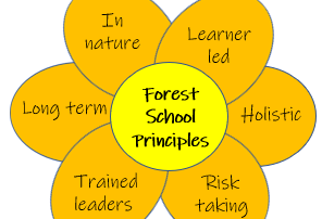 6 key principles of Forest school ethos