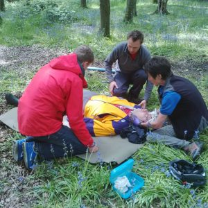 outdoor first aid with first aid academy